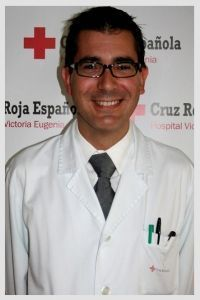 Doctor Francisco Rebollo Análisis Clínicos Hospital VIctoria Eugenia Cruz Roja lab sur