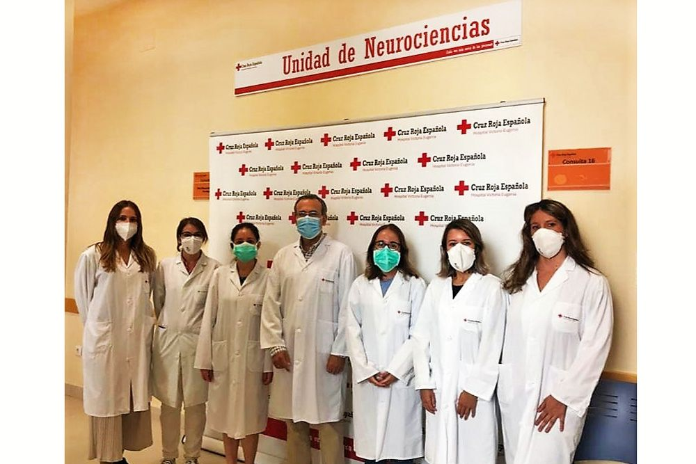 Unidad de neurociencias Sevilla especialistas Hospital Cruz Roja